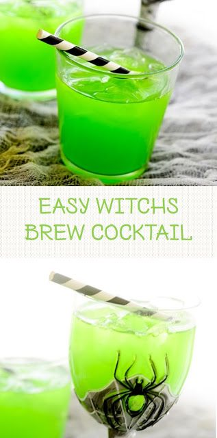 EASY WITCH'S BREW COCKTAIL