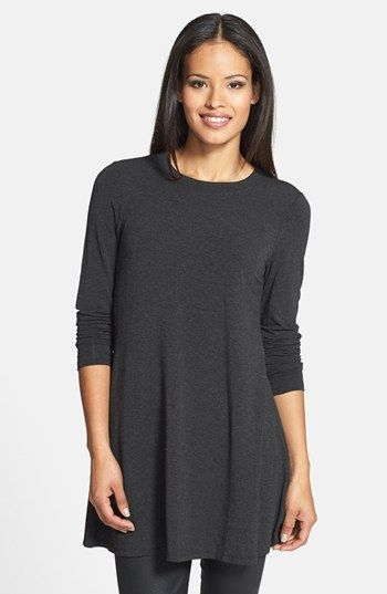 Eileen Fisher Crewneck Tunic | Nordstrom