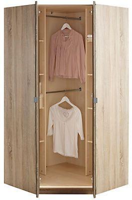 Eckkleiderschrank Malaga In Im Online Shop Von Baur Versand Eckkleiderschrank Schrank Kleiderschrank