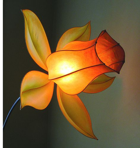 Amazing handmade paper light by HiiH Lights, via All Things Paper