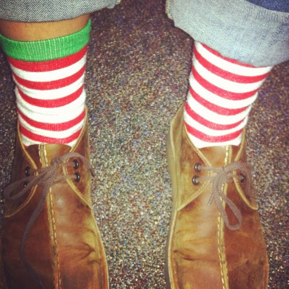 My Christmas fever is holding strong, love my sock collection.