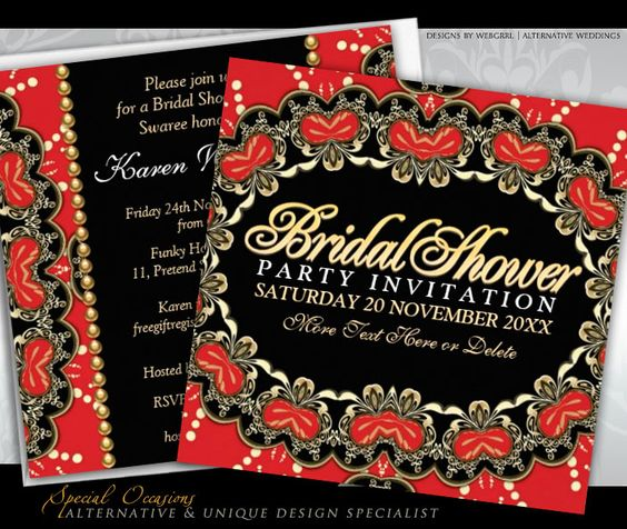 Invitations For Bridal Shower with good invitations layout