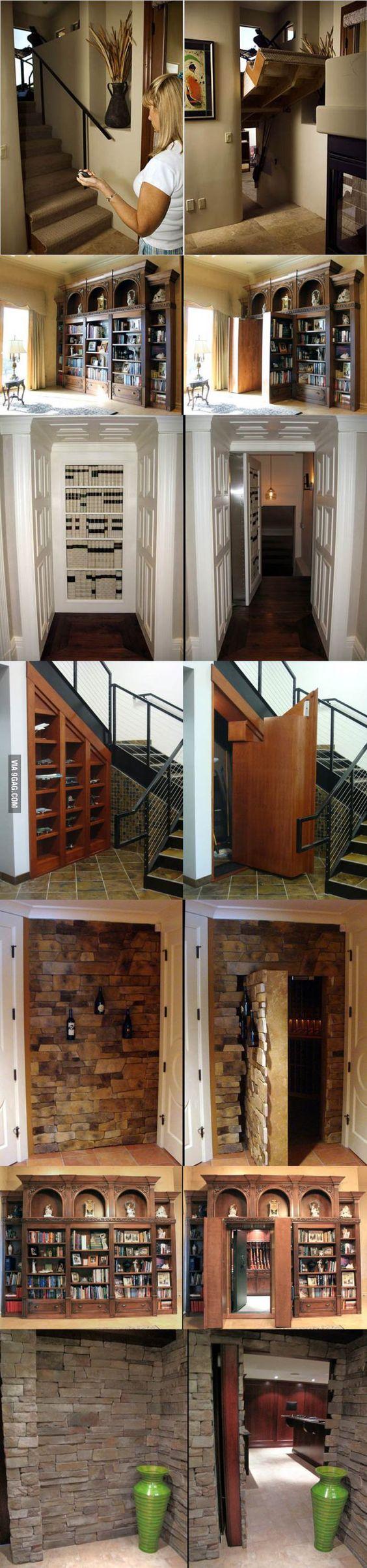 Secret hidden passageways in house hidden passageways for Houses with secret rooms and passageways