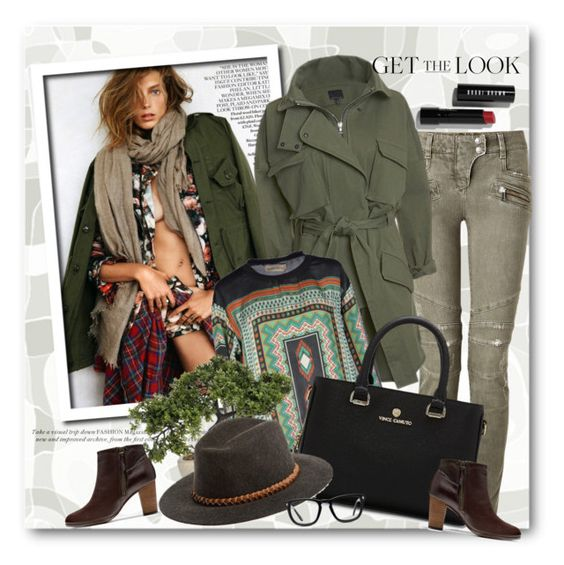 """""""Look the day"""" by vkmd ❤ liked on Polyvore featuring Balmain, Marissa Webb, Libertine-Libertine, Cole Haan, Vince Camuto, Billabong, Muse, Bobbi Brown Cosmetics and GetTheLook"""