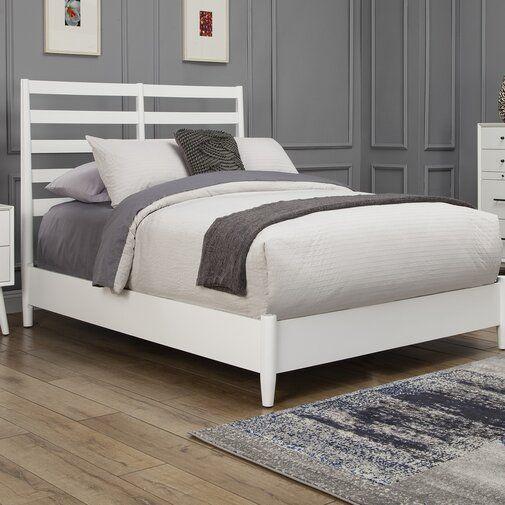 Langley Street Parocela Retro Panel Bed Reviews Wayfair Bed Sizes Modern Platform Bed Stylish Beds