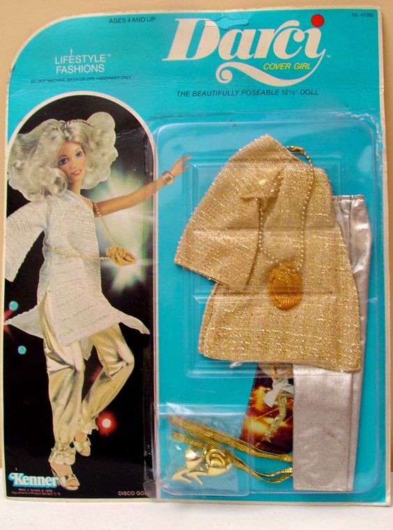 Darci Cover Girl Disco Gold Lifestyle Fashions by TheModPasse