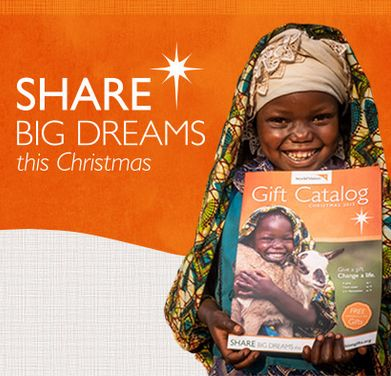 Give Back with the World Vision Gift Catalog   Giveaway
