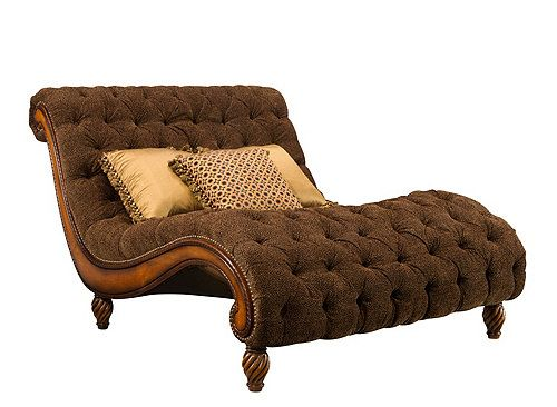 Dinah chenille chaise and a half chaises raymour and for Chaise and a half lounge