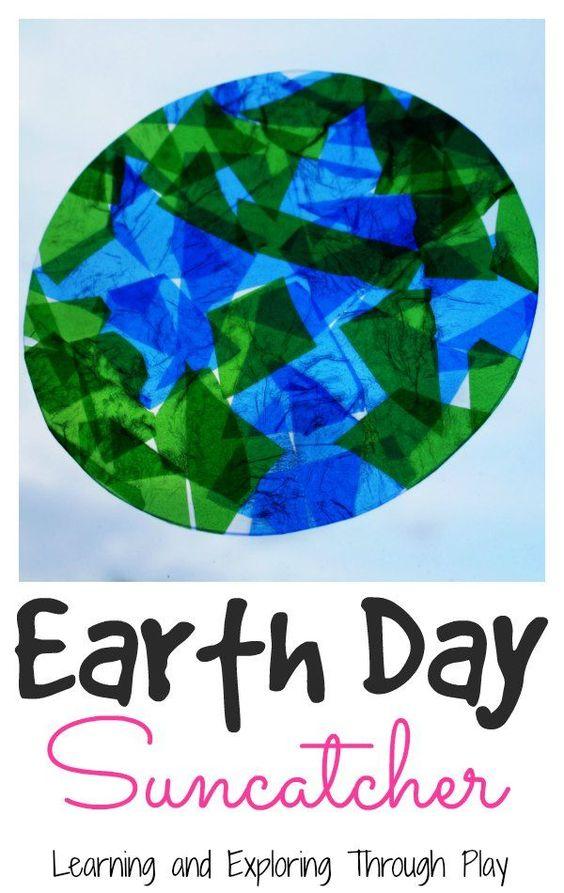 Planet Earth Crafts For Preschool