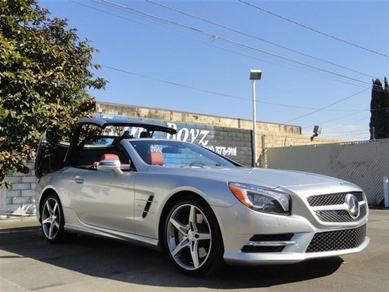 2013 Gray Mercedes-Benz SL-Class SL550 http://www.iseecars.com/used-cars/used-mercedes-benz-convertible-for-sale