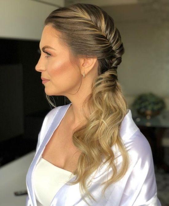 20 ideias de penteado lateral e passo a passo
