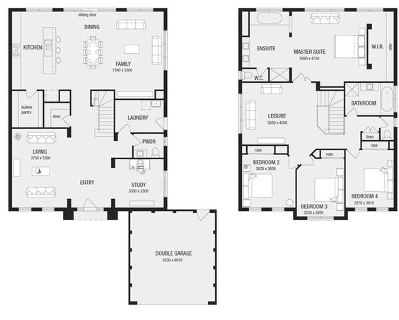 Newhaven 36, New Home Floor Plans, Interactive House Plans