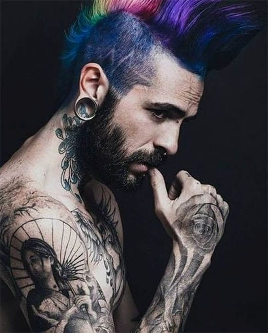 Top 41 Punk Hairstyles For Men 2019 Choicest Collection Hair