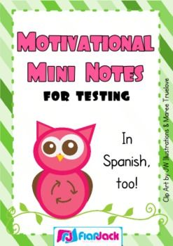 free motivational mini notes for encouragement during