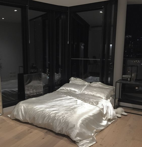 Satin Bed Sheet Set - IVORY
