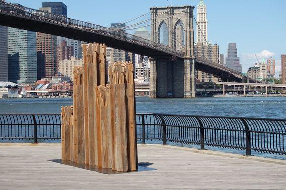 Julia Ousley  Skyline II, wood  New York, NY