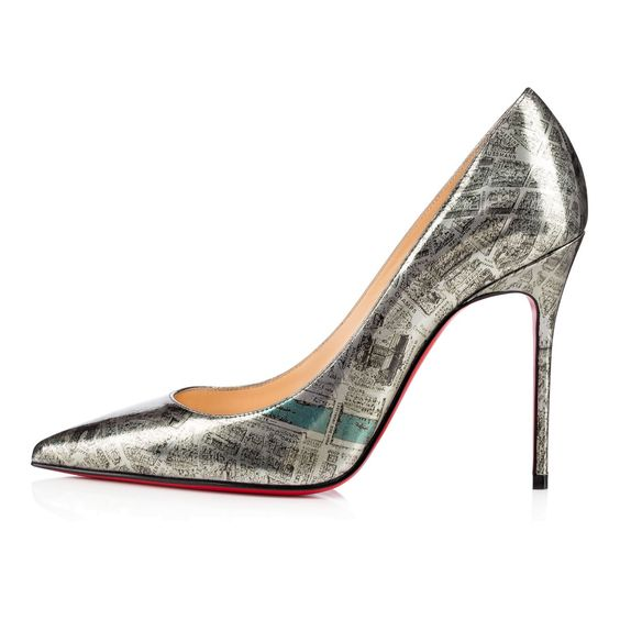 Louboutin Decollete 554 Plan De Paris: