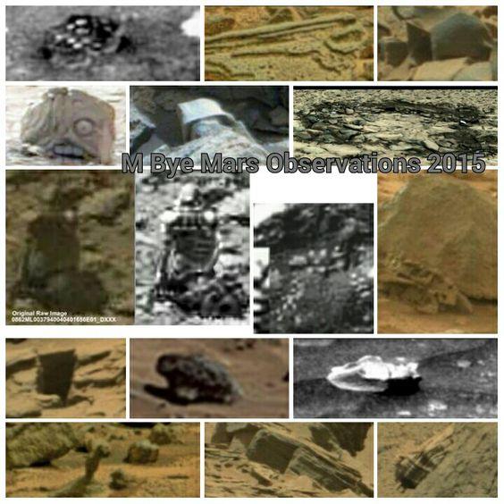 Mara Anomalies M Bye Mars Observations 2015: