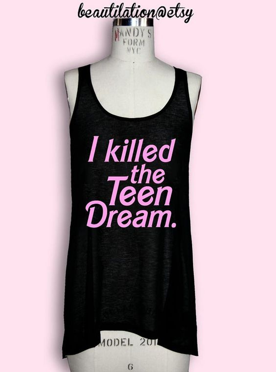 I need this TEEN DREAM tank by Beautilation immediately. Would love this Jawbreaker tank to work out