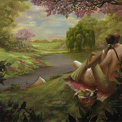 Romantic Rendezvous by John Holyfield | The Black Art Depot