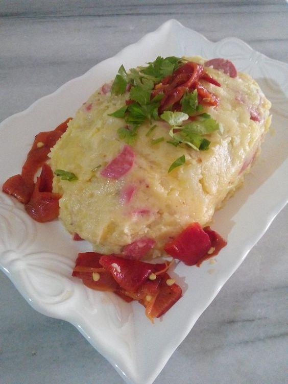 Papya biberli patates puresi