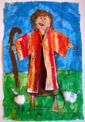 Pamela Holderman: Joseph and his amazing coat made by some amazing little artists