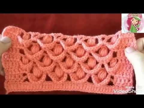 كروشيه غرزة مجسمة 3d بشكل مستطيل غرزة ريش الطاووس للشالات والجيليهات والجاكيتات وملابس الأطفال Youtube Crochet