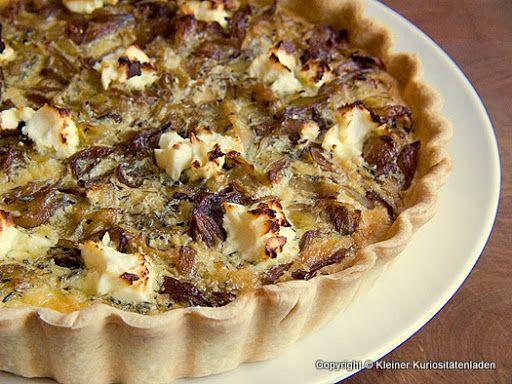 Zwiebel-Kartoffel-Tarte mit Ziegenfrischkäse März-Plan
