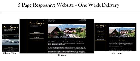 RWD is a new web design approach that gives the user an optimal viewing experience across multiple devices . Responsive websites adapt seamlessly to all devices One website will fit all devices. Responsive web design can replace the need for an App.(Via www.ukwebfast.co.uk/websitedesign.php)