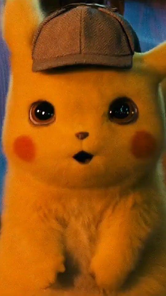 Detective Pikachu Wallpaper Cute Pikachu Cute Pokemon Wallpaper Cute Cartoon Wallpapers