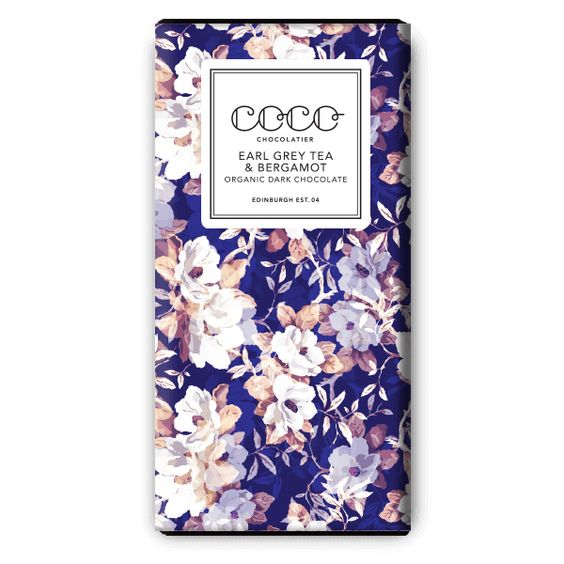 earl grey tea & bergamot dark chocolate | coco.: