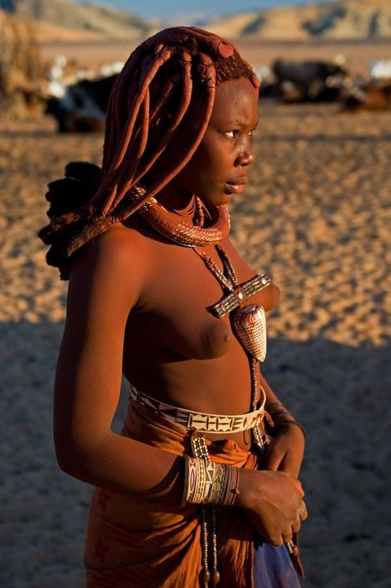 Himba Beauty, Namibia by Gul Chotrani