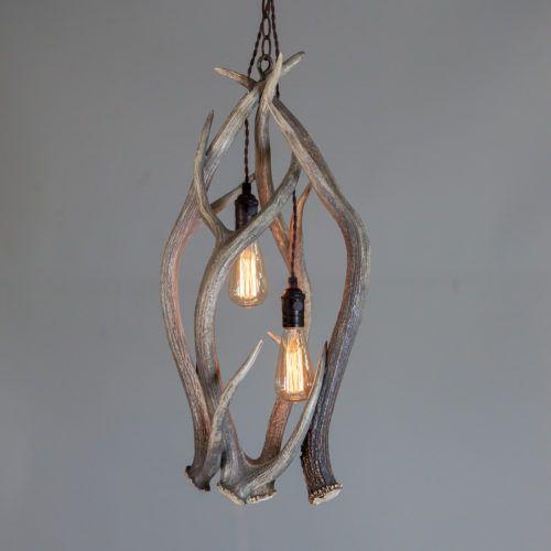 Antler Lights Light Fixtures, Chandelier Hanging Mountains