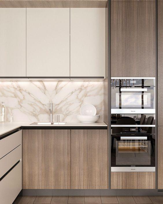 Love This Unique Simple Kitchen Area Re Create This Look With Rauvisio Terra Simple Kitchen Design Modern Kitchen Cabinet Design Kitchen Furniture Design