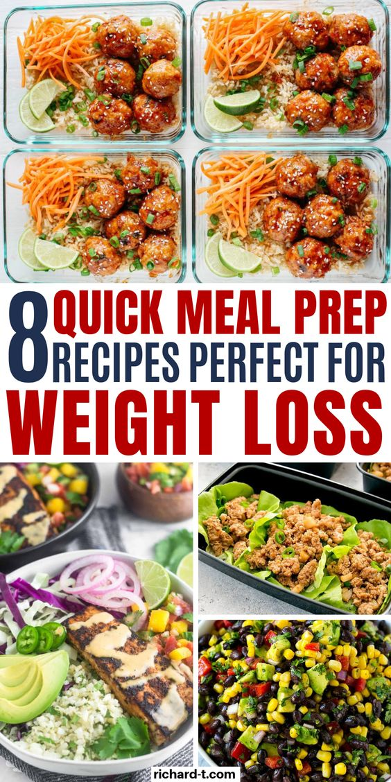 8 Meal Prep Recipe Ideas That Are Really Healthy