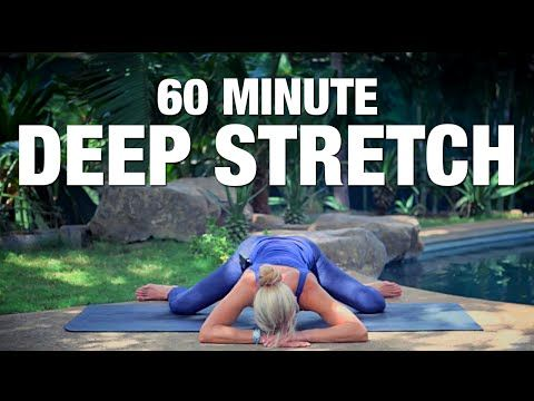This class really shows your tight areas.  Nice morning class, or after work. Five Parks Yoga - 60 Minute Deep Stretch - YouTube