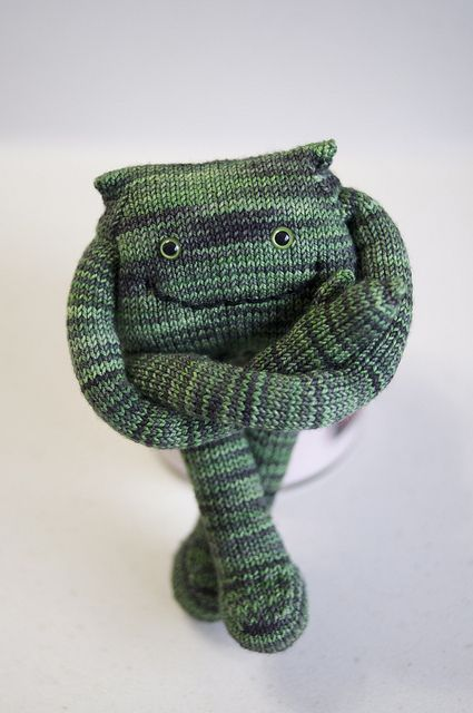 Ugly Doll Knitting Pattern Free : Happy, So cute and Patterns on Pinterest