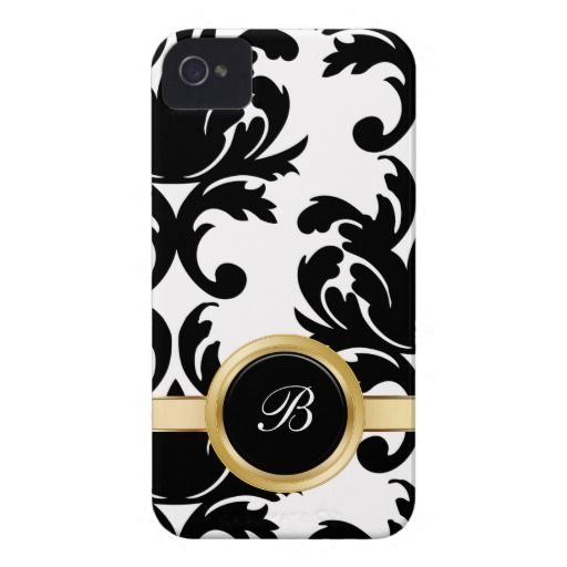 Pink Damask iPhone 4 Cases