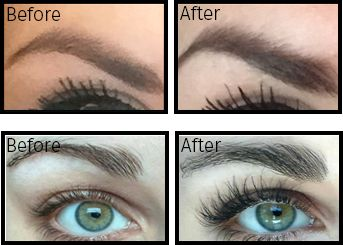 LiBrow Before and After