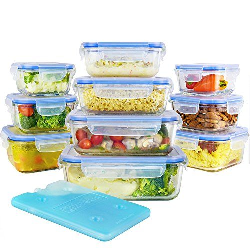 Larger Capacity Variety Of Size More Large Ones Than Others The Largest One Is Glass Food Storage Food Storage Container Set Glass Food Storage Containers