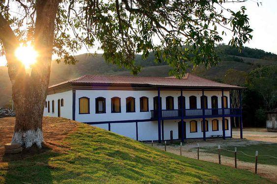 Nova Era (MG) - Brasil - sede da antiga Fazenda da Vargem