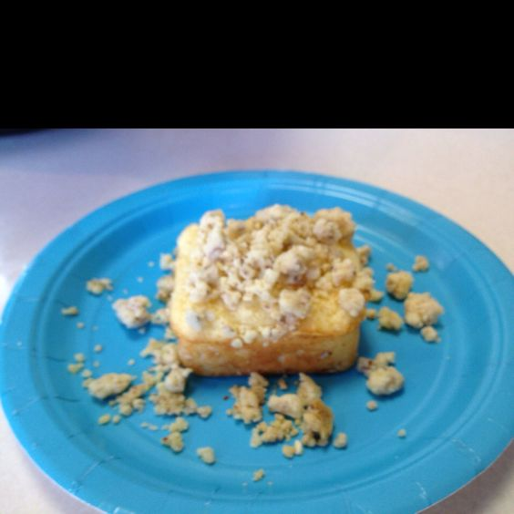 Lemon crumble cake. Used the Pampered Chef recipe & PC ...