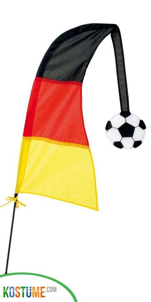 Windfahne Deutschland 100cm Fussball Deko Fussball Party Und