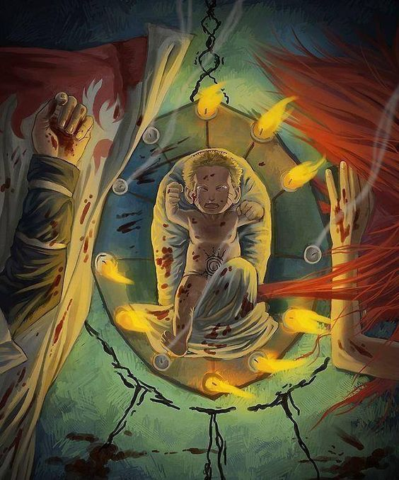 Baby Naruto......sad Moment!!