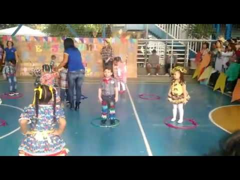Danca Infantil Festa Junina Icrx Jardim 3 Youtube Danca