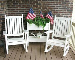 Plastic Patio Furniture Rockers And Swings On Pinterest