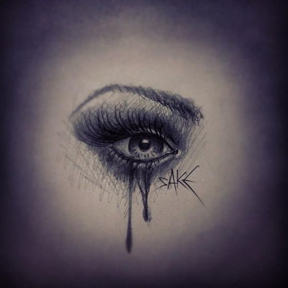 Weeping Eye Tattoo Design | eyes and lips | Pinterest ...