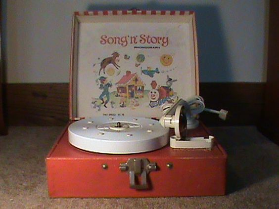 Children's Song 'n' Story Phonograph Record Player  by 32LumasLane, $16.00