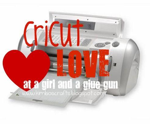 cricut love and vinyl cutting!!!! - A girl and a glue gun