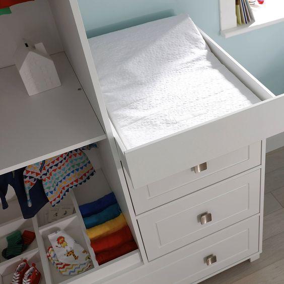 Soho Dresser Wardrobe Combo Unit From Silver Cross Uk Bedroom Armoire Nursery Furniture Sets Nursery Dresser